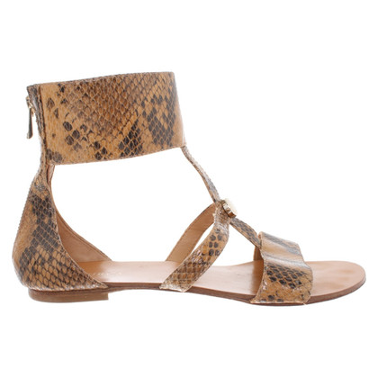 Furla Sandals in reptile look