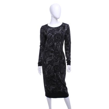 Escada Knit dress with pattern