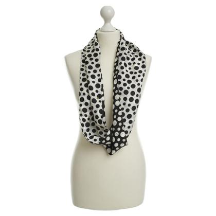 Louis Vuitton Sciarpa di seta in bicolor