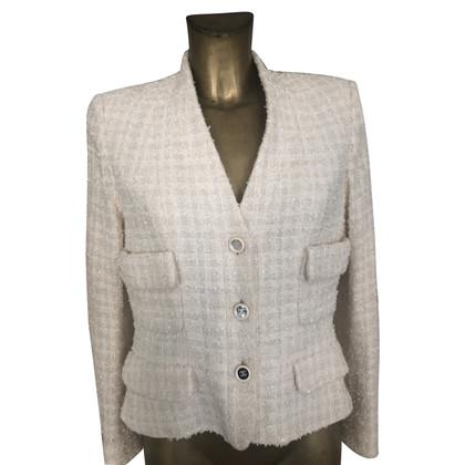Chanel Bouclé blazer in cream
