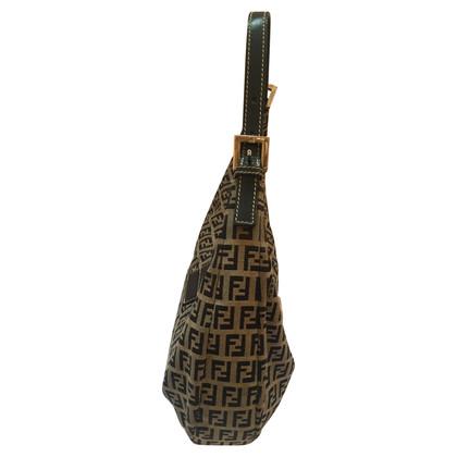 Fendi Sac à bandoulière avec des motifs Zucca