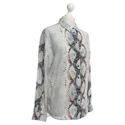 Max & Co Silk blouse with snake pattern
