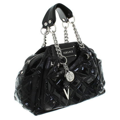 Versace Handbag in black