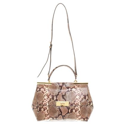 Michael Kors Handbag in reptile look