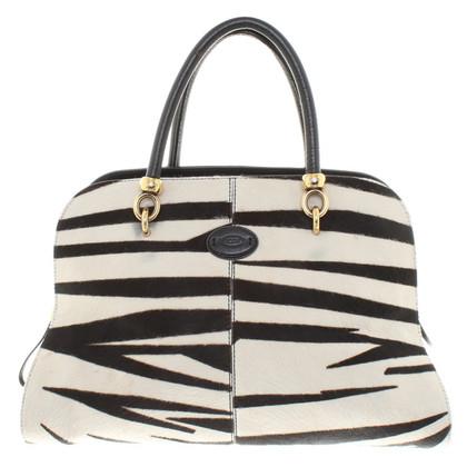 Tod's Handbag with fur