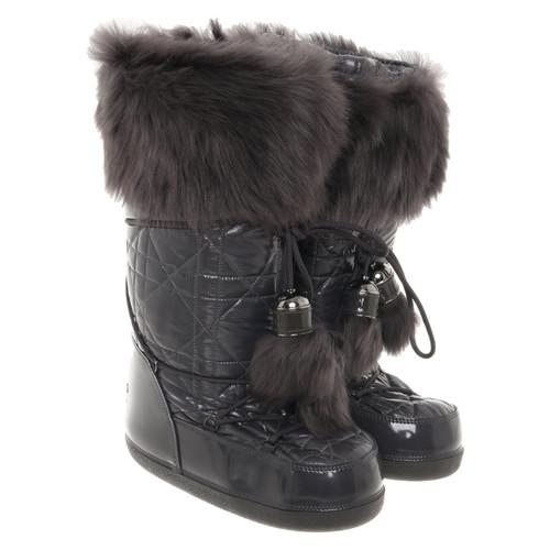 sito affidabile 08473 c6833 Christian Dior Stivali da neve in taupe - Second hand ...