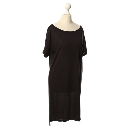 T by Alexander Wang T-Shirt-Kleid in Schwarz