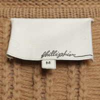 Phillip Lim Knitted coat in beige
