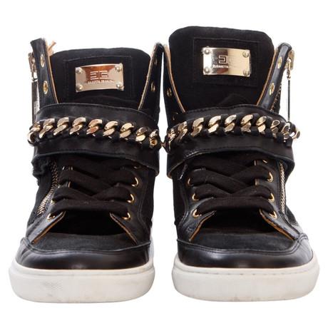 Steckdose Breite Palette Von Elisabetta Franchi Sneakers Schwarz Freies Verschiffen In Deutschland Billig Kaufen 8rFe1