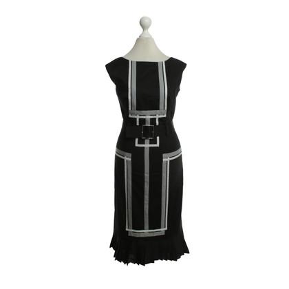 Karen Millen Dress with quilted borders