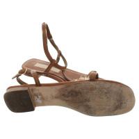 Schumacher Sandals in brown