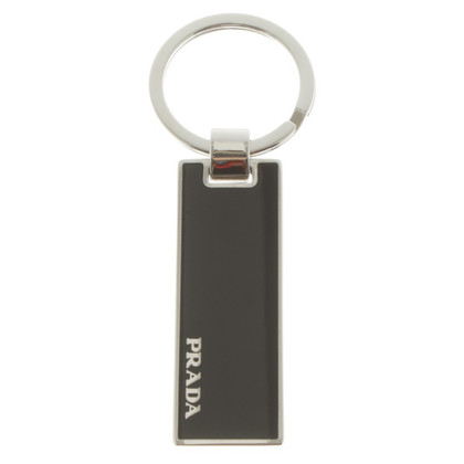 Prada Keychain in black