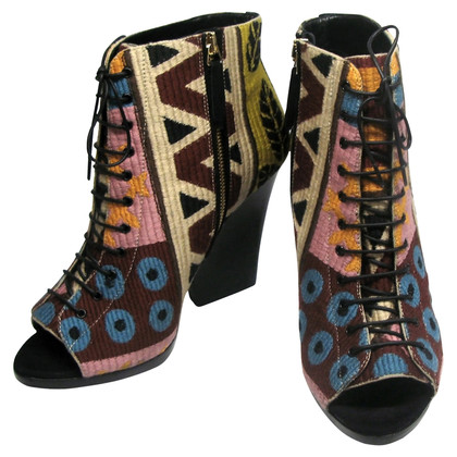 Burberry Virginia Tapestry Booties
