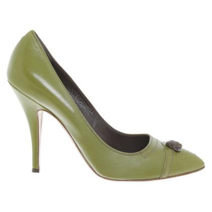L'autre Chose pumps in verde