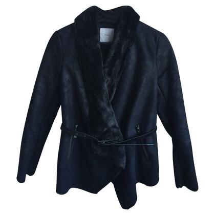 Pinko Jacket made of lambskin imitation