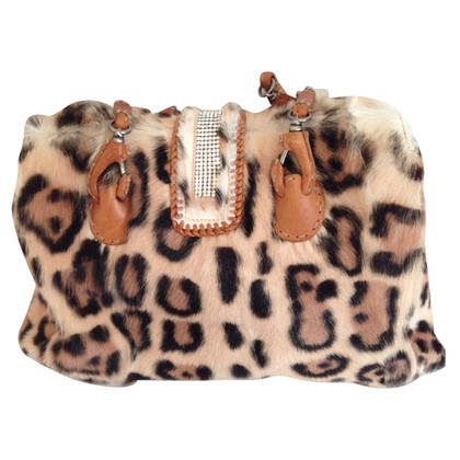 Ermanno Scervino Handbag with fur trim