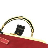 Balmain X H&M clutch