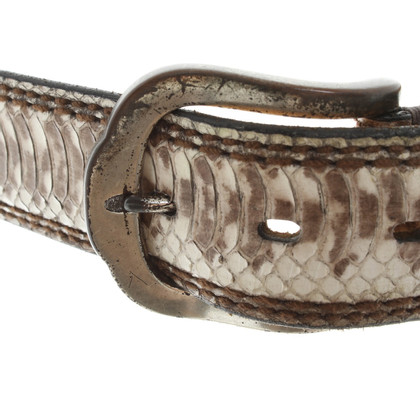 Fausto Colato Reptile leather belt