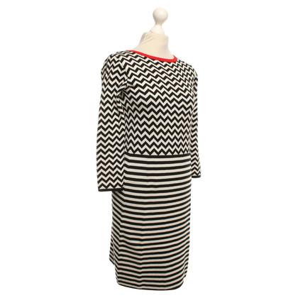 Max Mara Gebreide jurk met patroon