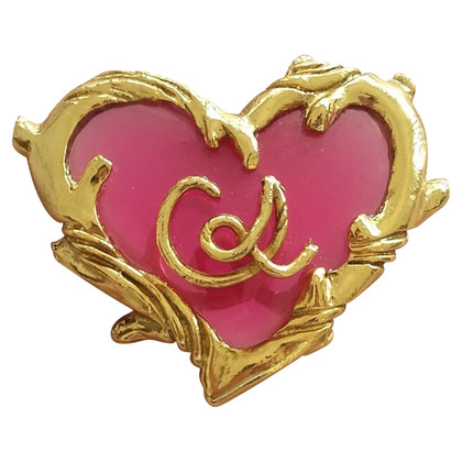 Christian Lacroix Heart Broche