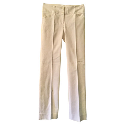 Adolfo Courrier trousers in white