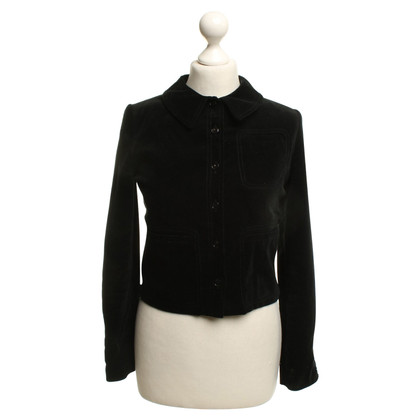 Cacharel Veste en velours noir