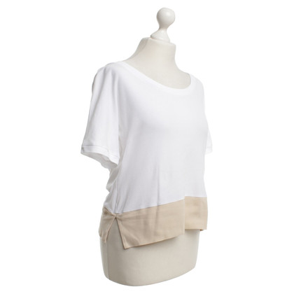 Chloé T-shirt in white / beige