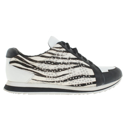 Pierre Balmain Sneakers in zwart / White