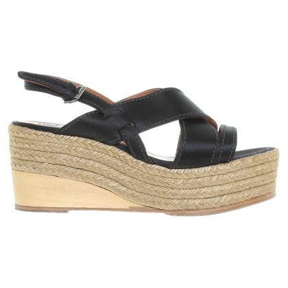 Lanvin Platform sandalen in zwart