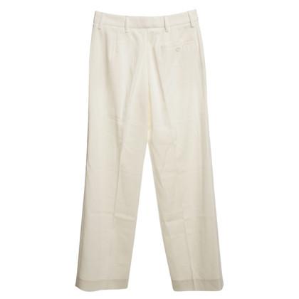 Prada Piega pantaloni in panna