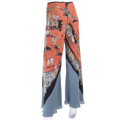 Hermès Silk pants