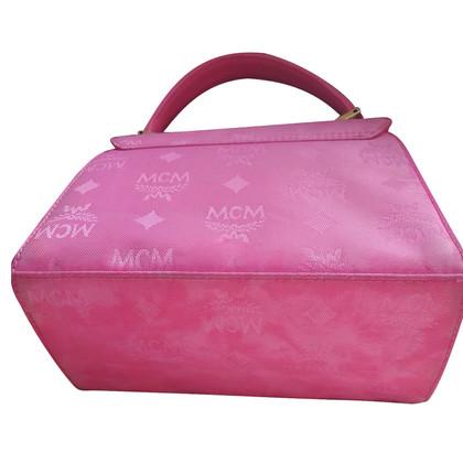 MCM Handtas in roze