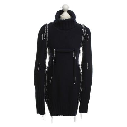 Maison Martin Margiela for H&M Gebreide jurk in Blauw