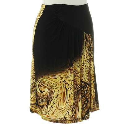 Just Cavalli skirt with Leo-print