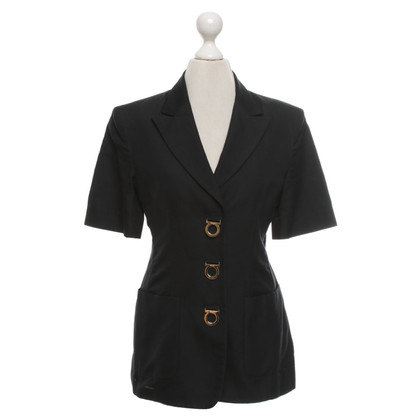 Salvatore Ferragamo Blazer in Black