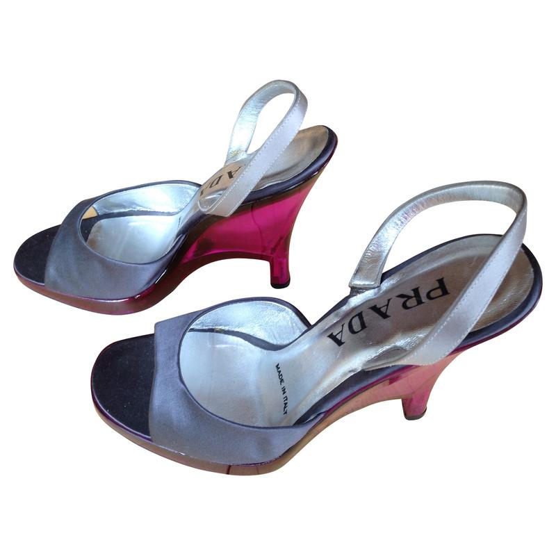 prada sandals with heels buy second hand prada sandals