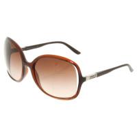 Versace Sonnenbrille in Braun