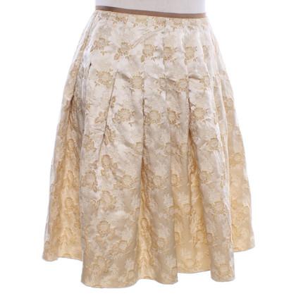 Blumarine jupe couleur or