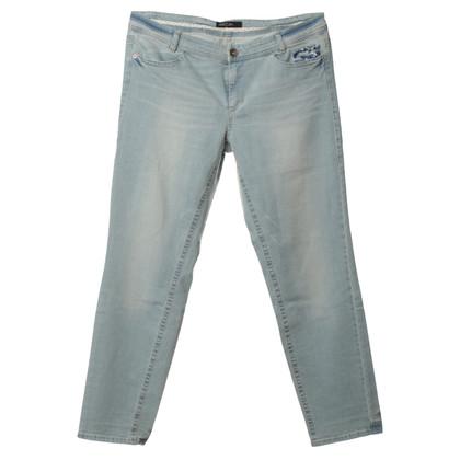Marc Cain Jeans with sequin appliqués