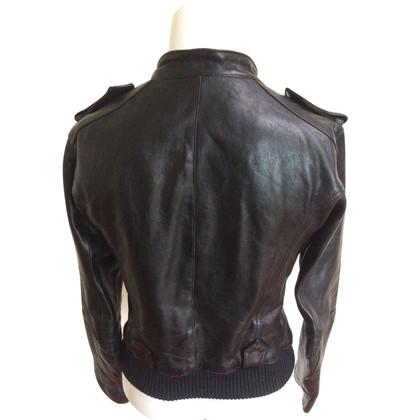 Ferre Noble GF Ferre soft leather jacket