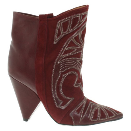 Isabel Marant Ankle boots in Bordeaux