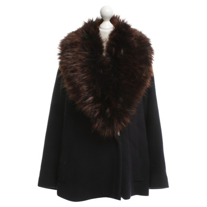 French Connection Jacket with faux fur