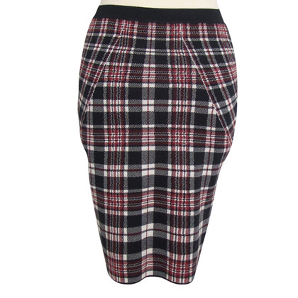 Alexander McQueen Plaid skirt