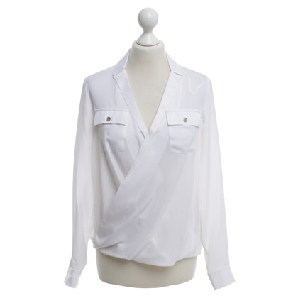 Michael Kors Silk blouse in Wei