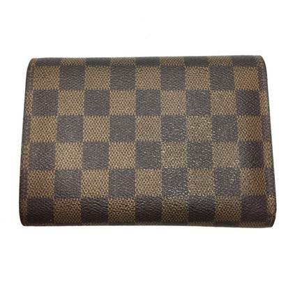 "Louis Vuitton ""Porte Trésor Damier Ebene Canvas"""
