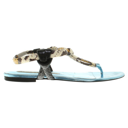 Acne Sandals in turquoise
