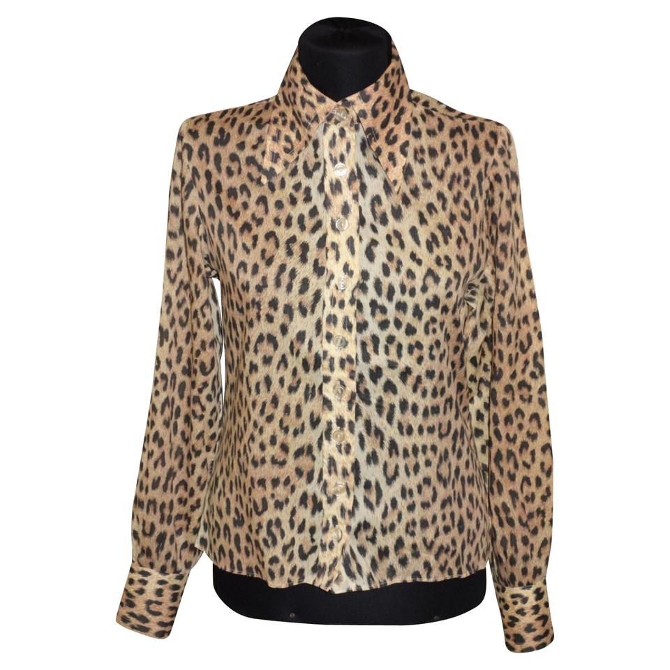 valentino bluse mit leoparden muster second hand valentino bluse mit leoparden muster. Black Bedroom Furniture Sets. Home Design Ideas