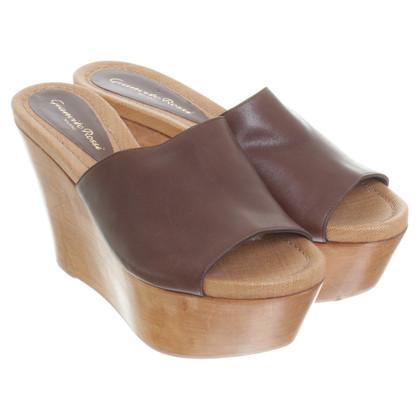 Gianvito Rossi Platform sandals in Brown