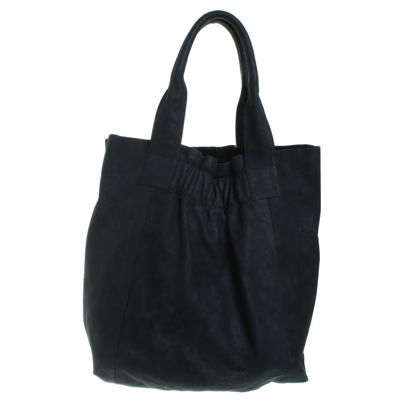 maje tote bag aus leder second hand maje tote bag aus. Black Bedroom Furniture Sets. Home Design Ideas