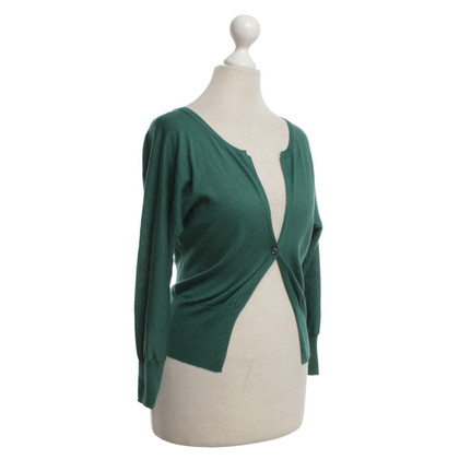 René Lezard Vest in Green